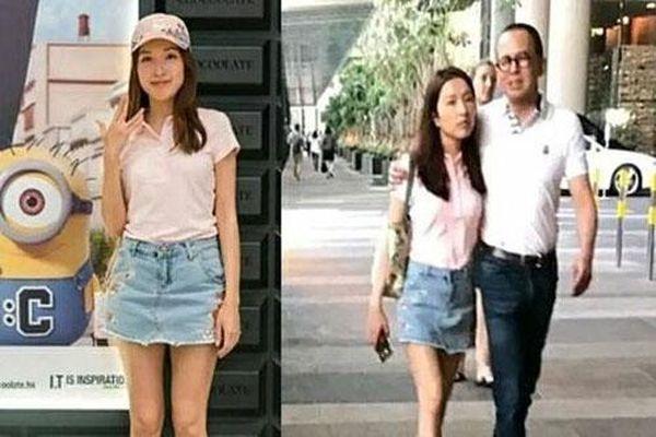 Á hậu Hong Kong bị đồn chia tay tỷ phú ba con