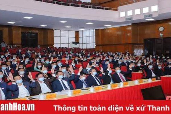 Kỳ họp thứ 14, HĐND tỉnh Thanh Hóa khóa XVII, nhiệm kỳ 2016-2021 thông qua 55 Nghị quyết