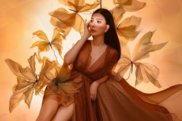 Lâm Khánh Chi chia sẻ về cuộc sống viên mãn, an yên từ trong tâm hồn
