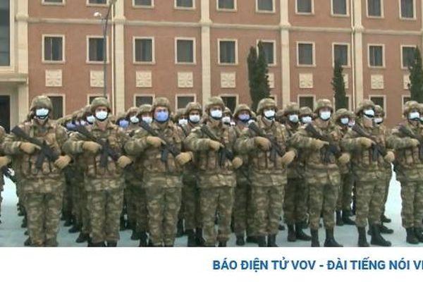 Các quân binh chủng Quân đội Azerbaijan đồng loạt tưởng niệm binh sĩ tử trận ở Karabakh