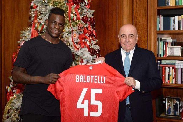 Balotelli có CLB mới sau 4 tháng thất nghiệp