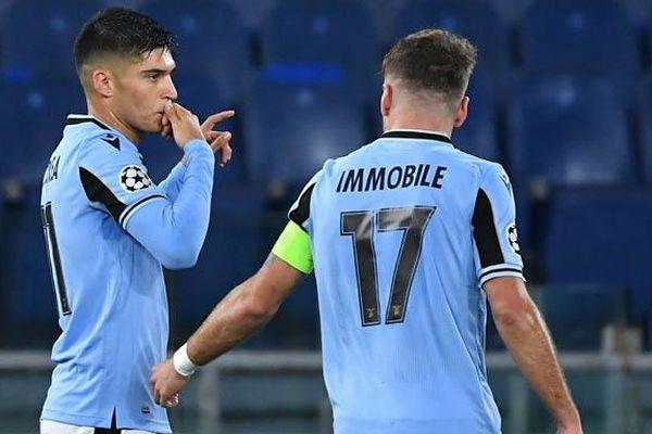 Kết quả Lazio 2-2 Club Brugge: Lazio vào vòng 1/8 cúp C1 châu Âu