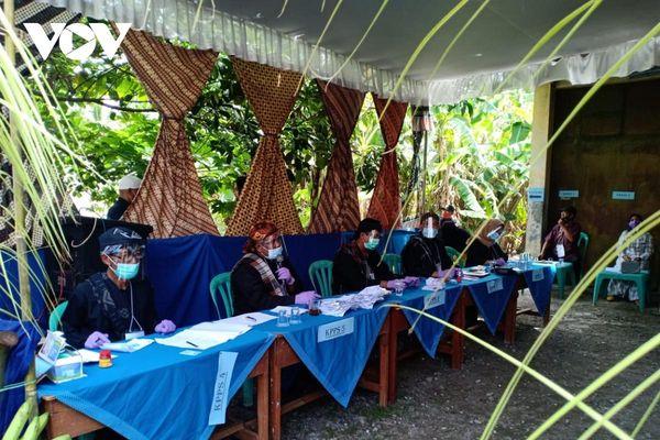 Bầu cử khu vực đặc biệt nhất lịch sử Indonesia trong đại dịch Covid-19