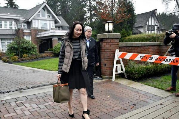 FBI kiên trì tìm kiếm thông tin về 'công chúa Huawei' từ hải quan Canada