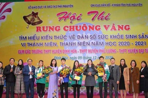Học sinh 'rung chuông vàng' tìm hiểu kiến thức sức khỏe sinh sản