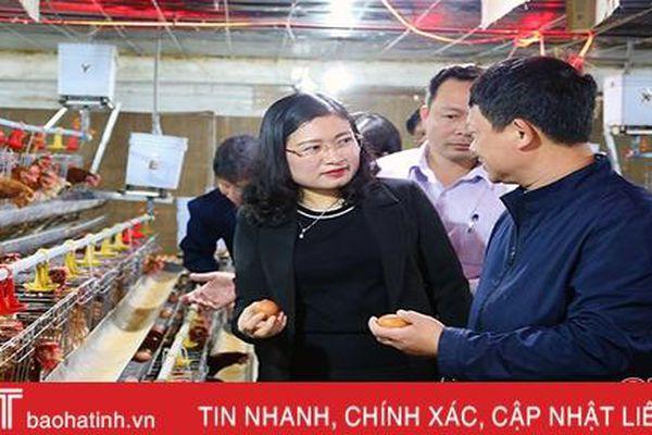 Thạch Hà trích 230 triệu đồng hỗ trợ doanh nghiệp, hộ sản xuất khắc phục khó khăn