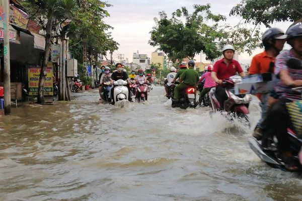 Từ ngày mai, nhiều nơi ở TP.HCM sẽ ngập vì đỉnh triều