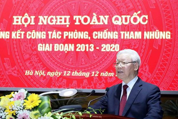 Tổng Bí thư, Chủ tịch nước Nguyễn Phú Trọng: - Xây dựng cơ chế phòng ngừa chặt chẽ để không thể, không dám và không cần tham nhũng