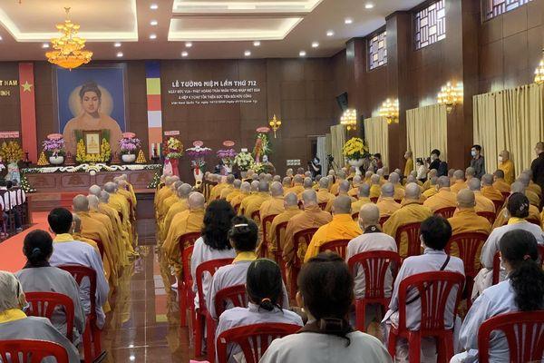 TP. Hồ Chí Minh: Đại lễ tưởng niệm lần thứ 712 Phật hoàng Trần Nhân Tông nhập Niết bàn