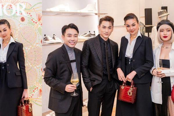 Thanh Hằng tỏa sáng với khí chất 'womanboss' ngời ngời tại sự kiện của Dior ở Hà Nội