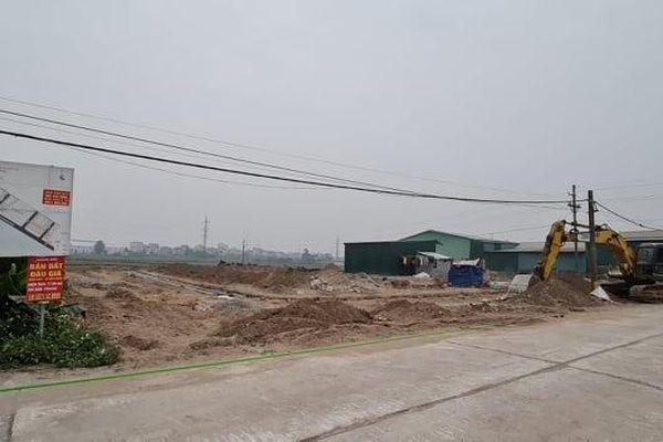 UBND huyện Thường Tín bán đấu giá đất khi chưa xây dựng hạ tầng