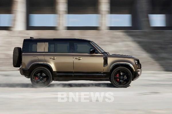 Land Rover Defender phiên bản 110 Mới đạt giải thưởng 5 sao từ Euro NCAP