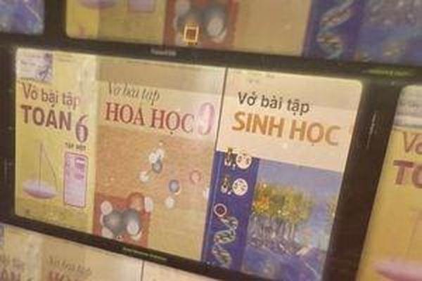 Sách giả trong trường học