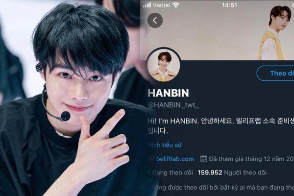 Hưng Bin (I-land) hút 160 nghìn follow sau 1 ngày mở Twitter: Biểu diễn mở màn cho concert nhà Big Hit!