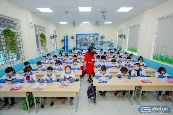Hải Phòng đầu tư cho giáo dục, nhìn từ Trường Tiểu học Nguyễn Văn Tố