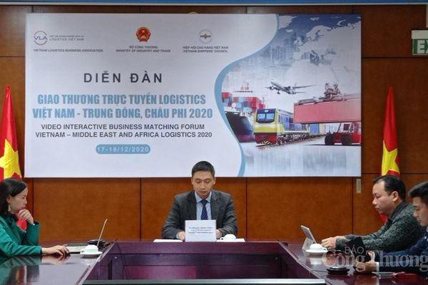 Gỡ rào cản hợp tác logistics Việt Nam với khu vực Trung Đông - châu Phi