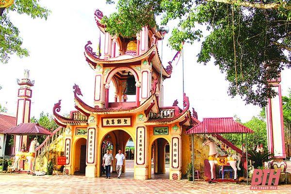 Chùa Mậu Xương – điểm đến tâm linh của huyện Quảng Xương