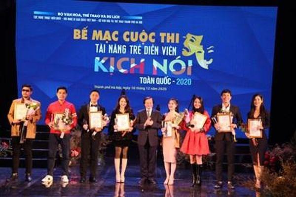 Trao 24 Huy chương cho các tài năng trẻ diễn viên kịch nói toàn quốc