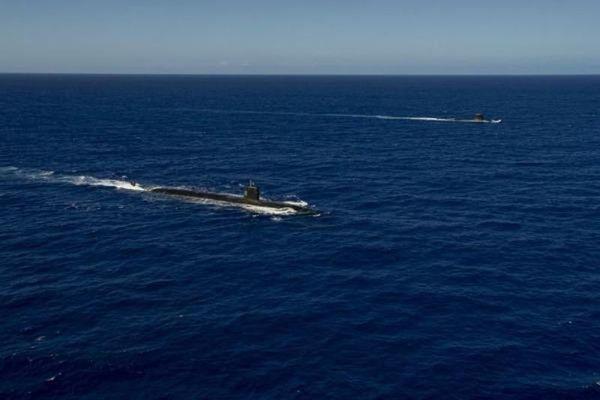 Sức mạnh tàu ngầm hạt nhân Pháp vừa tập trận ở Thái Bình Dương