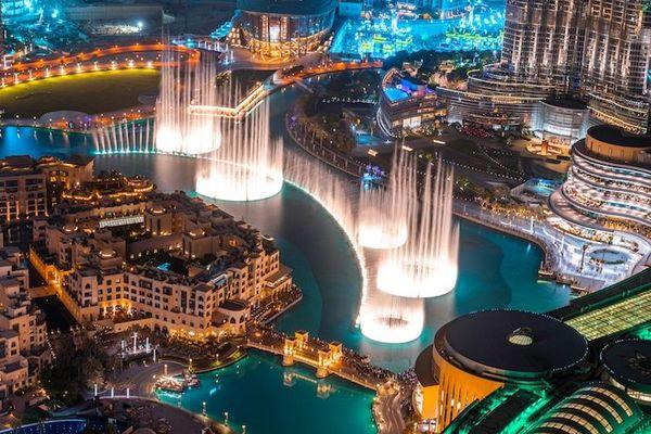 7 đài phun nước tuyệt đẹp nổi tiếng trên thế giới