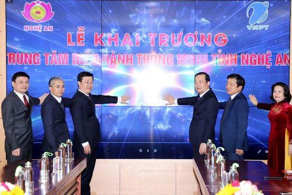 VNPT triển khai chính quyền điện tử cho tỉnh Nghệ An