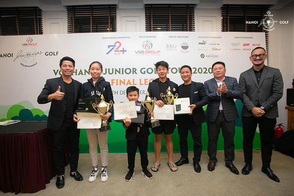 Đoàn Uy vô địch toàn hệ thống giải golf trẻ Hà Nội