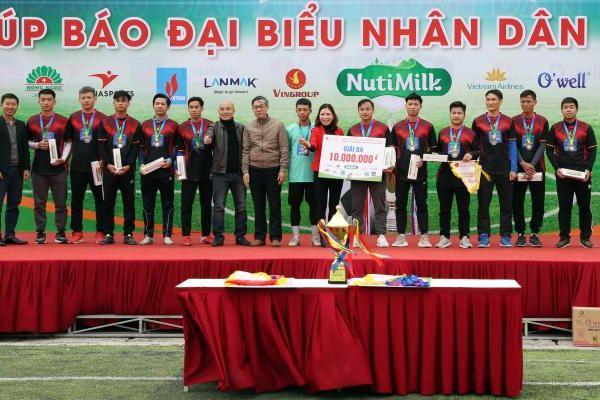 Giải bóng đá các cơ quan Trung ương mở rộng diễn ra thành công tốt đẹp