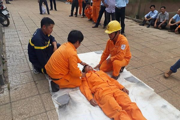 PC Đắk Nông: An toàn vệ sinh lao động là yếu tố tạo sự thành công cho doanh nghiệp