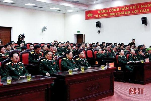 Lực lượng vũ trang Hà Tĩnh phát huy truyền thống 'Trung hiếu, đoàn kết, dũng cảm, sáng tạo'