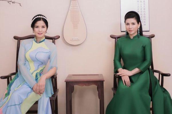 Diễn viên Thúy Hà 'Về nhà đi con' bên Quỳnh Hoa xuất thần với áo dài Kenny Thái