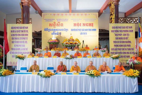 Hội nghị chuyên đề Phật giáo Nam Tông Khmer lần thứ IX