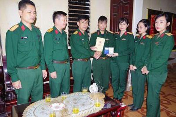 Hoàn cảnh gia đình quân nhân Lê Minh Tuấn rất cần giúp đỡ