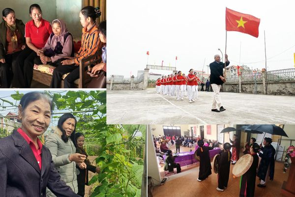 Ấn tượng với câu lạc bộ đặc biệt giúp người người cao tuổi hạnh phúc, đẩy lùi đói nghèo ở Thủ đô