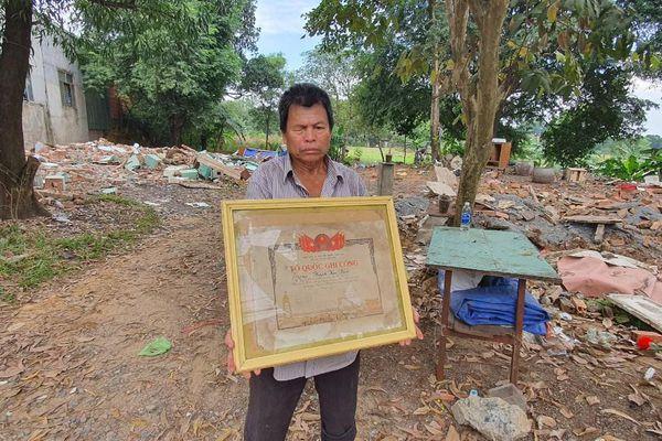 Đồng Nai: Sẽ cấp nền nhà cho ông Huỳnh Văn Xuân để thờ cúng liệt sĩ