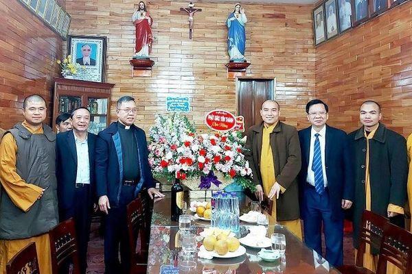 Phật giáo Yên Thành, Thanh Chương chúc mừng Giáng sinh