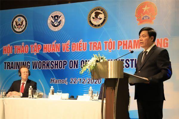 Việt Nam và Mỹ tổ chức hội thảo tập huấn về điều tra tội phạm mạng