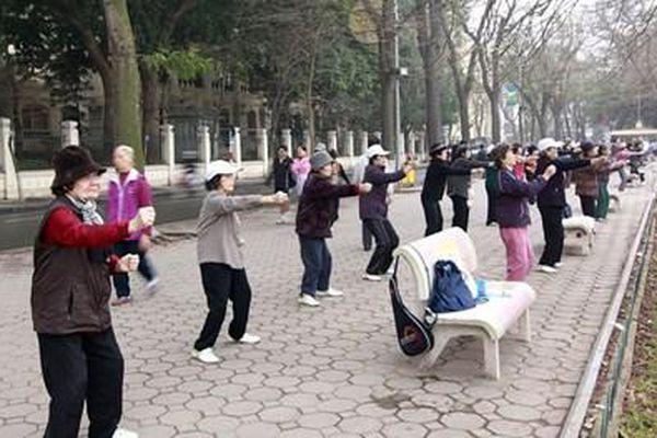 Cẩn trọng với việc tập thể dục lúc sáng sớm