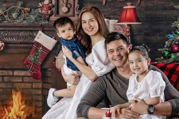 Gia đình 'Mỹ nhân đẹp nhất Philippines' Marian Rivera đón Giáng sinh