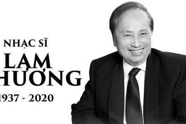 Tang lễ cố nhạc sĩ Lam Phương sẽ được tổ chức ở Việt Nam và Mỹ