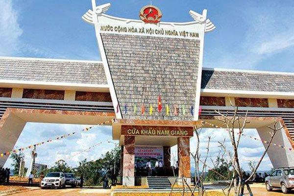 Nâng cấp cửa khẩu tại Quảng Nam và Sơn La thành 2 cửa khẩu quốc tế