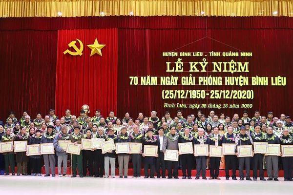 Kỷ niệm 70 năm ngày giải phóng huyện Bình Liêu