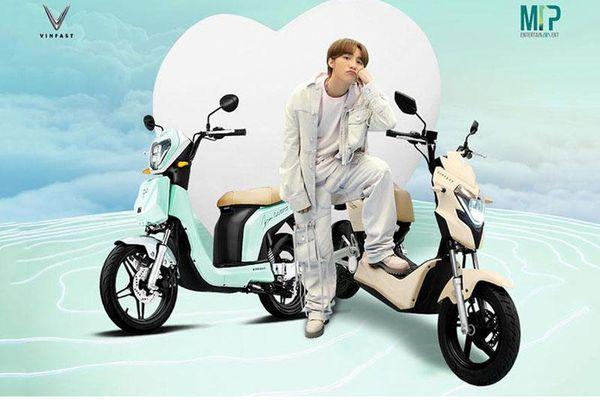 Chi tiết 2 xe máy điện VinFast hợp tác với M-TP Entertainment