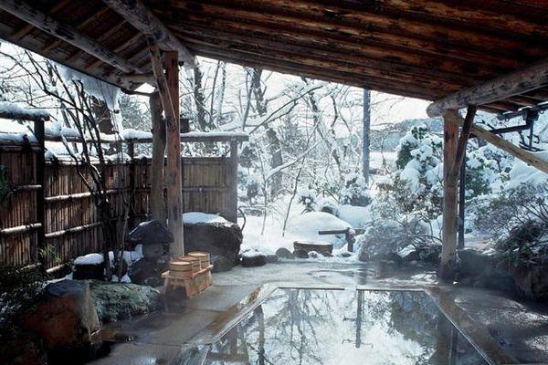 Về thánh địa onsen tắm 'dòng nước chữa lành' nổi tiếng