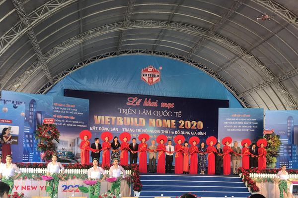 Khai mạc triển lãm Vietbuild Home 2020