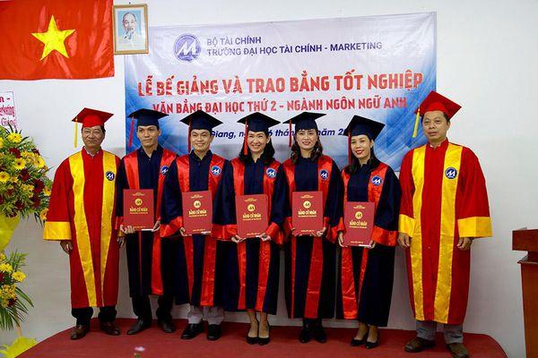 Trao bằng tốt nghiệp cho 35 tân cử nhân ngành ngôn ngữ Anh