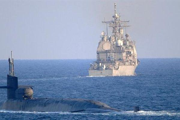 Tàu đổ bộ Iran bị lật gần eo biển Hormuz