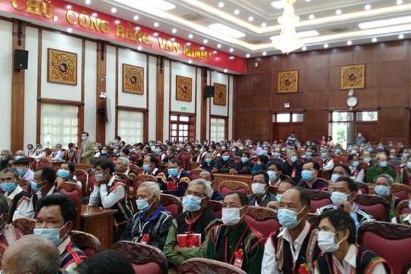 Gia Lai: Hội nghị gặp mặt, biểu dương người có uy tín, tiêu biểu đồng bào dân tộc thiểu số