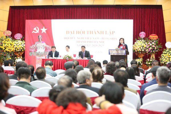 Thành lập Hội hữu nghị Việt Nam - Bulgaria TP Hà Nội