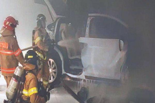 Hàn Quốc điều tra vụ cháy nổ xe điện Tesla Model X gây chết người