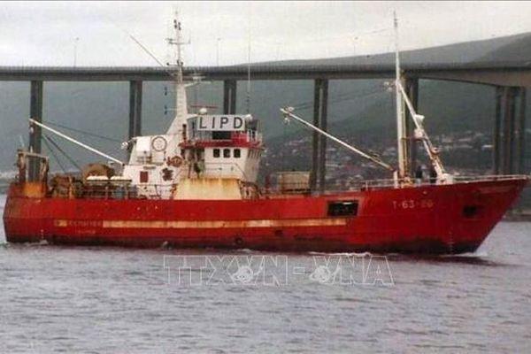 Tàu cá Nga chìm ở biển Barents, 17 người mất tích